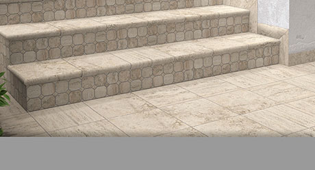 Reale Travertino Ceramica Antislip Natucer