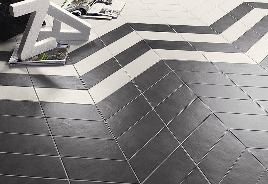 CHEVRON CONCRET LONDRES 11x26 · CHEVRON CONCRET OSLO 11x26
