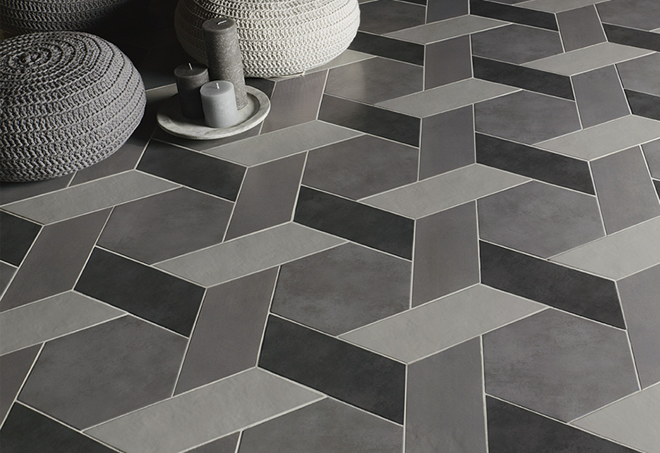 CONCRET PARIS HEXAGONAL 22,5x26 · CHEVRON CONCRET ROMA (Izq.) 11x26 · CHEVRON CONCRET PARIS (Izq.) 11x26 · CHEVRON CONCRET OSLO (Izq.) 11x26