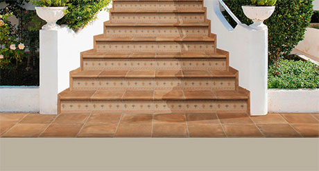 COTTO NATURE SIENA-ESCALERAS-Ceramica-Natucer