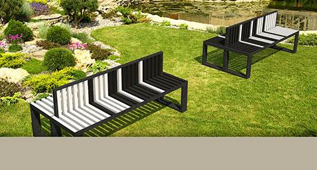 Jardines exteriores estancias ambientes natucer - Mobiliario de exteriores ...