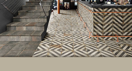 D´ANTICATTO DECOR OBLIQUA-ESCALERAS-Ceramica-Natucer