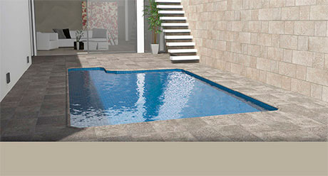 GRANITE GROSSETO-PISCINA/WELLNESS-Ceramica-Natucer