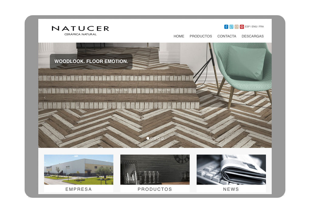 Imagenes We released a new Website Design