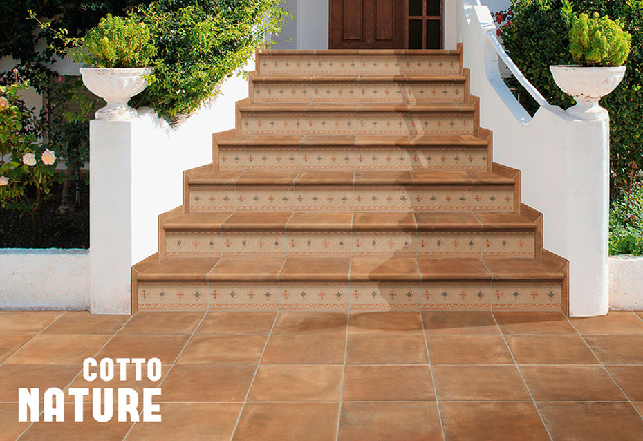 Cotto Nature Piezas Especiales Natucer