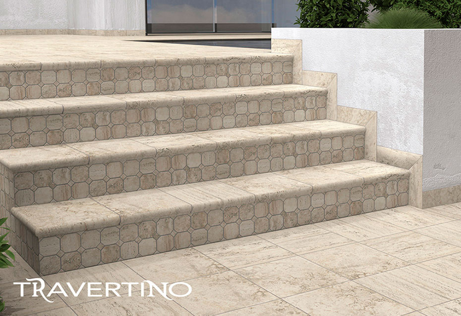 Travertino Piezas Especiales Natucer