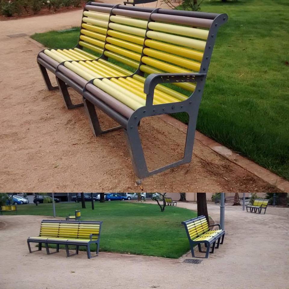 Mobiliario urbano vila real natucer natucer cer mica natural for Mobiliario urbano tipos