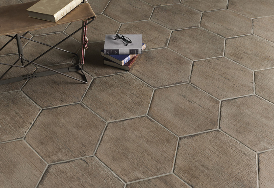 RETRO TERRA HEXAGONAL 36x41,5